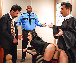 Brazzers – Judge, Jury, And Double Penetrator