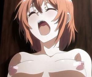 Ginger hentai schoolgirl