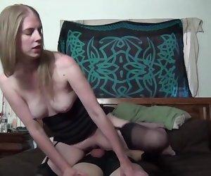 Horny Girl Rides Till Cum