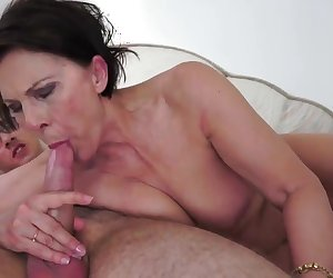 Wild and horny granny fucking-2