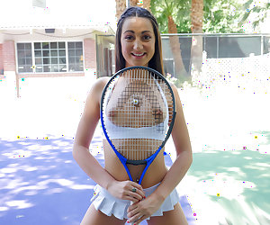 Teen Tennis Star