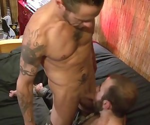 Cole Hudson and Damon
