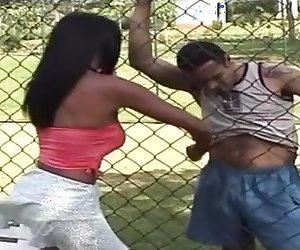 Cristina Close passionate tranny action