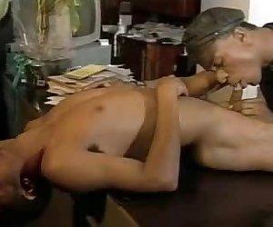 Cock Slurping Gay Interracial Lovers