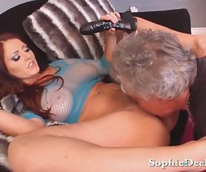 Lick Mistress Sophie Dee Wet Pussy Slave!