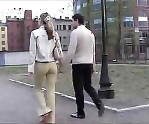 Russian cream-skinned teenage girl is fucked nicely in hotel room
