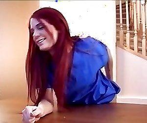 Nurse punished by spanking