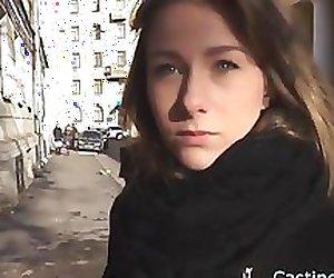 Fake casting fucks a real russian teen