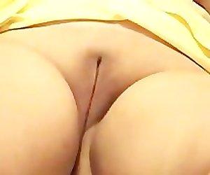Wet shaved vagina