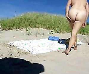 Nude Beach - Rehead Mature Fuck
