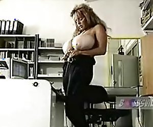 Ultra Rare Topsy Curvey Secretary Stripping