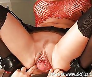 Fisting and stretching my hot girlfriends mas