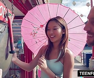 TEENFIDELITY - Alina Li Big Trouble in Little Va'China