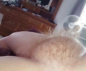 big hairy pussy bulge sticking up
