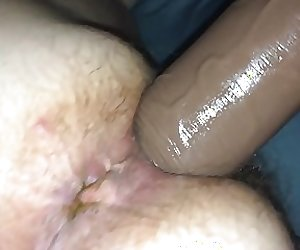 My Fat BBW Takes a Huge Dildo