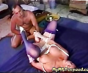 My MILF Exposed Fat juicy pussy half way fist