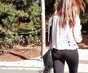 Candid leggings in pink top