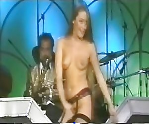 Janet Lucas Great British striptease