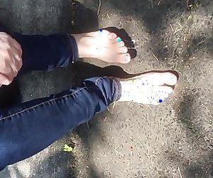 Elizabeth's Dirty Feet
