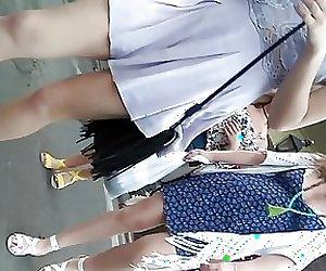 Legs short dress