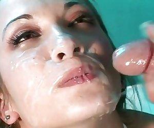 Facial Cumshots compilation