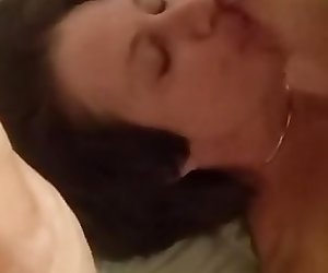 cuck films as bull fucks and facials his wife