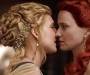 Viva Bianca and Lucy Lawless - Spartacus s1e02