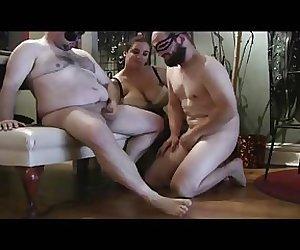 she domms two straight men