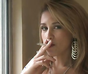 Hailey smoking (JS)