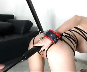 Slave Girl Fuck Machine