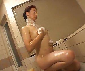 Exotic Japanese model Rinko Nomiya in Fabulous Compilation, Cunnilingus JAV clip