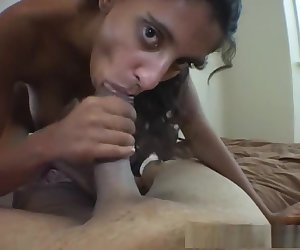 Crazy pornstar Jhazira Minxxx in hottest facial, brunette porn video