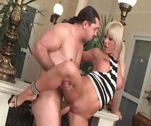 Best pornstar Sandra Parker in fabulous blonde, gaping xxx video